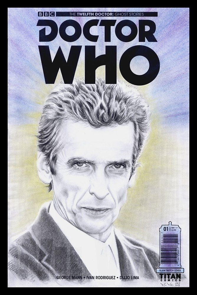 Peter Capaldi by wu-wei